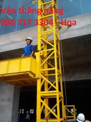 Vận thăng nâng hàng 500kg - 20m/30m/40m/50m,...