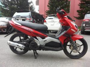 Yamaha Nouvo II Đỏ 2007 Mới Đẹp Nguyên Z