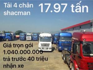 Tại sao xe tải shacman 4 chân lại được ưa chuộng ở cần thơ đến vậy