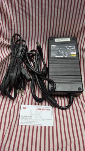 Adapter Dell 230w (19.5v-11,8A) dùng cho Dell XPS M1730 (Model: DA230PS0-00)