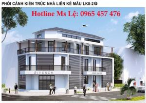 Bán lô liền kề 208m2 mặt kinh doanh giá rẻ kđt Nam Vĩnh Yên