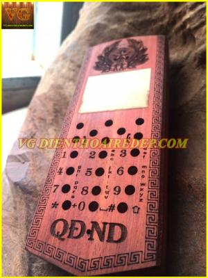 Vỏ gỗ điện thoại đẹp