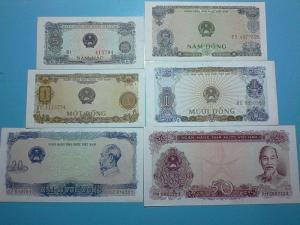 Bộ tiền giấy năm 1976