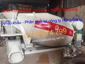 Bồn trộn bê tông HYG3 chất lượng cao
