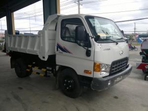 HD65 ben hạ tải xe chạy vào thành phố rất phù hợp.