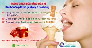 Khuyến Mãi Lớn Cùng Nha Khoa Răng Xinh