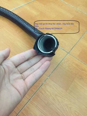 Ống ruột gà lõi thép bọc nhựa (ống thép luồn dây điện mềm)