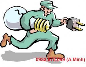 Sửa chữa hệ thống điện, thắp sang, thay mới bong đèn, day điện, cầu dao, ổ cấm, CB