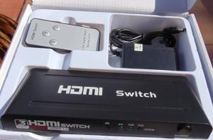 Bộ gộp HDMI 3 vào 1 ra FJGEAR  FJ-HD301 giá rẻ tại Hải Phòng