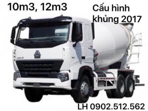 Bán xe bồn trộn bê tông howo, shacman ở Lâm Đồng