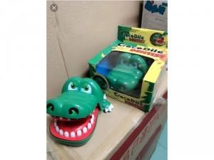 Khám răng cá sấu loại lớn