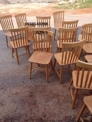 Ghế ăn gỗ cao su