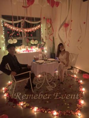 Tiệc 2 người lãng mạn tại Sài Gòn