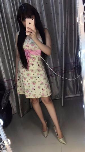 Đầm hoa xòe nơ eo cao cấp