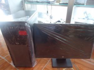 H61 asus + màn hình HP 20,5 đèn led