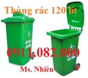 Thùng rác 60l, 80l, 120l, 240l giá rẻ nhất thị trường