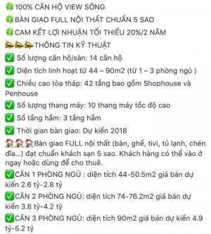 Cần bán cho ai nhanh tay, căn hộ trong toà cao nhất Việt Nam