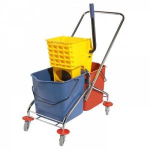 Xe làm vệ sinh 2 xô Hiclean Model: HC 071 - chuyên dùng trong nhà hàng, khách sạn, phân xưởng