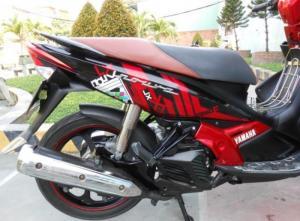 Yamaha Nouvo 4 LX bstp 2k10 màu đỏ đen xe đẹp...