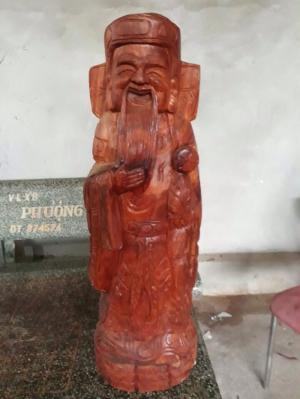 Bán bộ tượng gỗ Phúc Lộc Thọ, mang lại may mắn tài lộc cho bạn