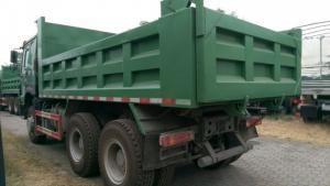 Xe tải ben 3 chân nhãn hiệu Howo động cơ 371HP