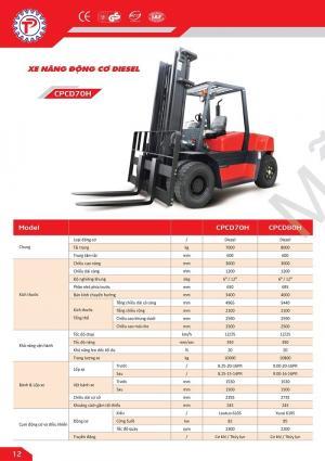 Xe nâng forklift Diesel giá siêu rẻ