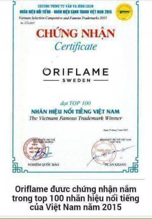 Sữa rửa mặt nha đam của mĩ phẩm ORIFLAME