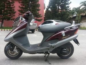 Spacy 125 Hàn Quốc LD Nhật Bản Chính Hãng CPI Giống Honda Spacy 100%