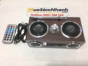 Loa mini Aibo PN-08 có thể lưu vị trí bài hát đang phát, khi bạn mở lại loa sẽ phát bài tiếp theo. Và nó còn hỗ trợ đài FM, dò và lưu đài FM một cách tự động với dãy tần 87.5 - 108Mhz. Bạn sẽ thấy thật tiện nghi bởi các chức năng tiện dụng của nó và luôn cập nhật tin tức trên đài FM.