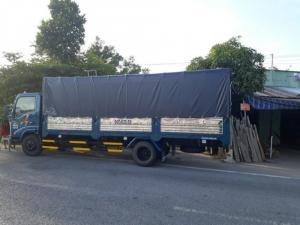 xe tải veam vt340s thung lửng 6m giá ưu đãi