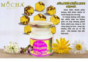 Sữa ong chúa tươi Mộc Hà, sản phẩm 100% thiên nhiên