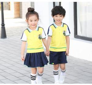 Đồng phục học sinh tiểu học phong cách nhẹ nhàng, thoải mái