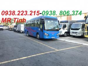 Xe 29 chỗ bầu hơi thaco tb82 mới nhất, giá xe 29 chỗ bầu hơi thaco lắp ráp mới nhất