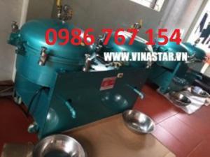 Bộ máy lọc dầu khí nén Wuangxin, máy lọc dầu công nghiệp giá rẻ