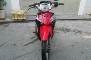 Yamaha sirius RC đỏ đen,đang sử dụng,chưa sữa...