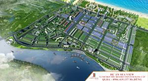 Đất vàng trên biển - KĐT thương mại biển Sea view, giá 5.5tr/m2