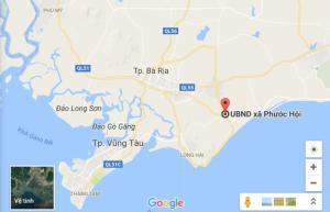 Bán gấp đất nông nghiệp bìa riêng, gần UBND xã Phước Hội, Huyện Đất đỏ
