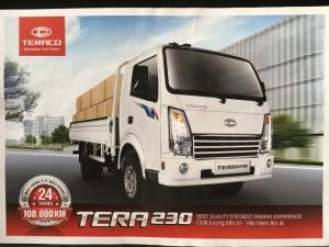 Xe tải 2,3 tấn teraco