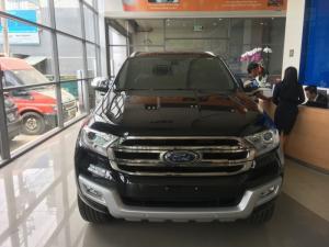 Bán xe Ford Everest  7 chỗ Titanium AT đời 2017-Ngân hàng hỗ trợ 80%