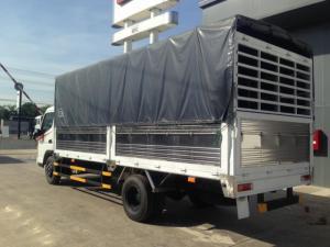 Bán xe tải canter 8.2 thùng mui bạt giá tốt nhất