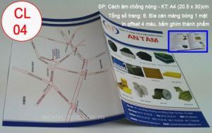 In ấn và thiết kế cơ bản catalogue
