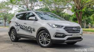 Hyundai Santafe 2.2 AT máy dầu bản thường tại Đắk Lắk