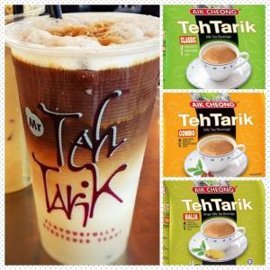 Trà sữa tự chọn !!! Teh Tarik Aik Cheong