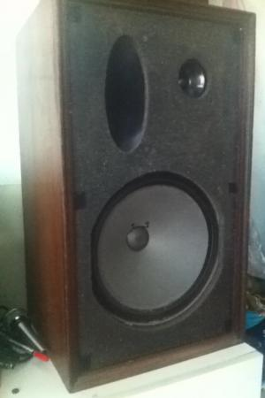 Vintage Utah 3-way Speakers