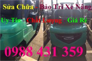 Sửa chữa xe nâng chuyên nghiệp, uy tín - chất lượng