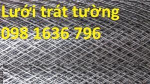 Phân phối lưới trát tường ô vuông mắt 10*10mm , 22*22 mm giá rẻ nhất