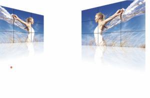 Màn hình ghép  MPDP OPM-4260 Kích thước 42 inch Độ sáng 1700cd/m2 Độ phân giải 1920x1080 Khoảng ghép 1.9mm Có khả năng ghép tới 100 tấm (10x10)