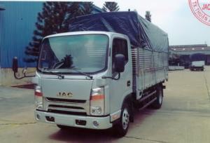 Xe tải isuzu 1.9 tấn thùng dài 4.5m đã có thùng và hồ sơ xe
