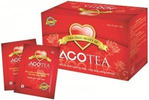 Trà ACOTEA- Tốt cho người Huyết áp thấp