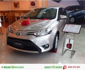 Khuyến mãi Toyota Vios 2017 Trả Góp, 80TR LÀ MUA ĐƯỢC XE, Tháng 9 bán xe giá vốn